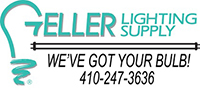Geller Lighting Supply logo
